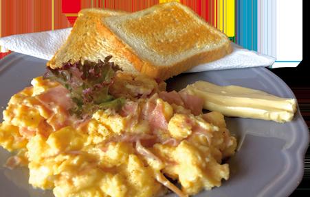 Café Legenda Kladno snídaně vejce